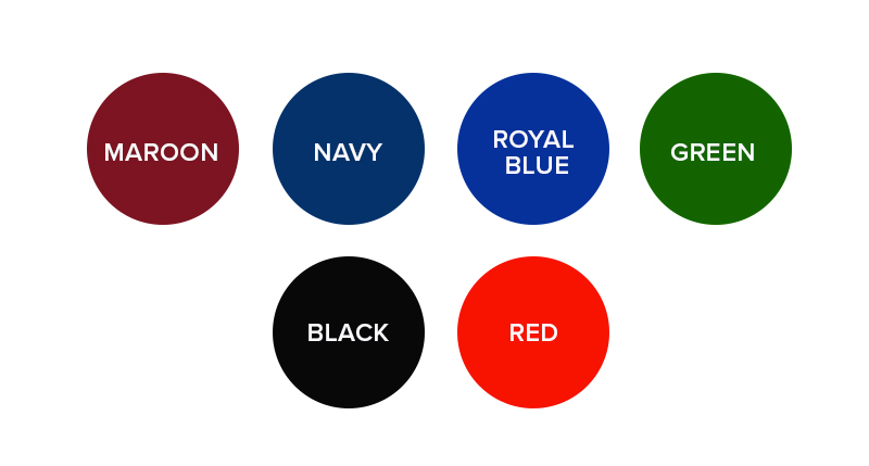 Dual Hockey Tennis Colour Options